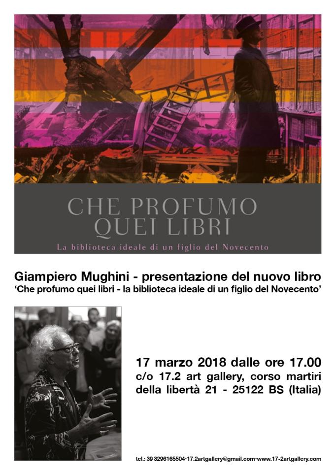 Mughini presentazione nuovo libro 17-03-2018