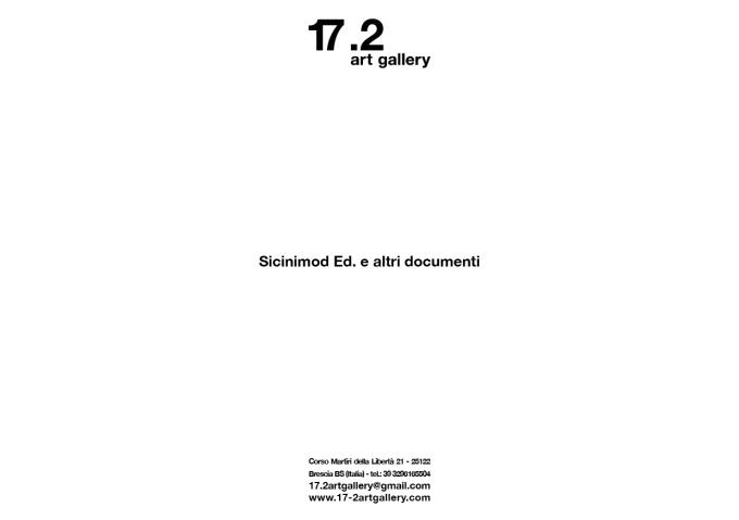 sicinimod ed. e altri documenti2